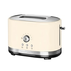 KitchenAid Manual Control 2 Slot Toaster Almond Cream