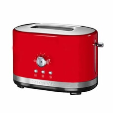 KitchenAid Manual Control 2 Slot Toaster Empire Red