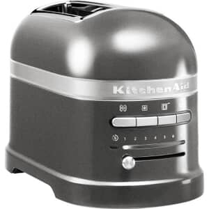 KitchenAid Artisan Toaster 2 Slice Medallion Silver