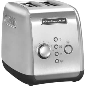 KitchenAid 2 Slot Toaster Medallion Silver