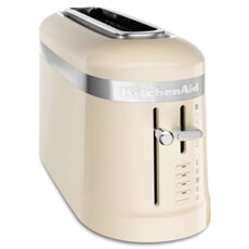KitchenAid 2 Slice Long Slot Design Toaster Almond Cream