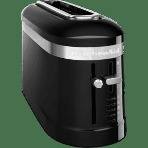 KitchenAid 2 Slice Long Slot Design Toaster Onyx Black