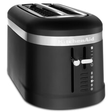 KitchenAid 4 Slot Design Toaster Matte Black