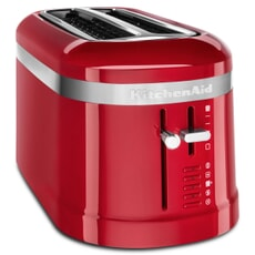 KitchenAid 4 Slice Long Slot Design Toaster Empire Red