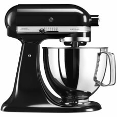 KitchenAid Artisan Mixer 4.8L Onyx Black (5KSM125BOB)