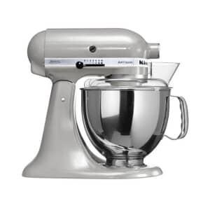 KitchenAid Artisan Mixer 4.8L Mixer Metallic Chrome (5KSM150BMC)