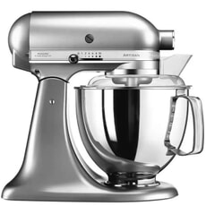 KitchenAid Artisan Mixer 4.8L Brushed Nickel (5KSM175PSBNK)