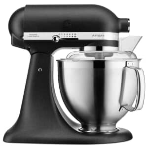 KitchenAid Artisan Mixer 4.8L Cast Iron Black (5KSM185PSBBK)