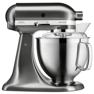 KitchenAid Artisan Mixer 4.8L Brushed Nickel (5KSM185PSBNK)