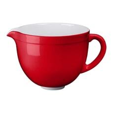 KitchenAid 4.8L Ceramic Bowl Empire Red