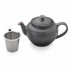 Le Creuset Petite Teapot With Stainless Steel Infuser Flint