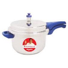 Wonderchef Nigella Pressure Cooker Blue 5 Litres