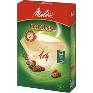 Melitta Filterbags 1 x 4 Aroma Zones Pack of 80