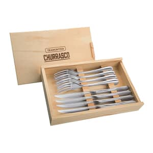 Tramontina Churrasco 8 Piece Steak Set Stainless Steel