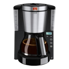 Melitta Look IV Timer Black Filter Coffee Machine (1011-08 BK)