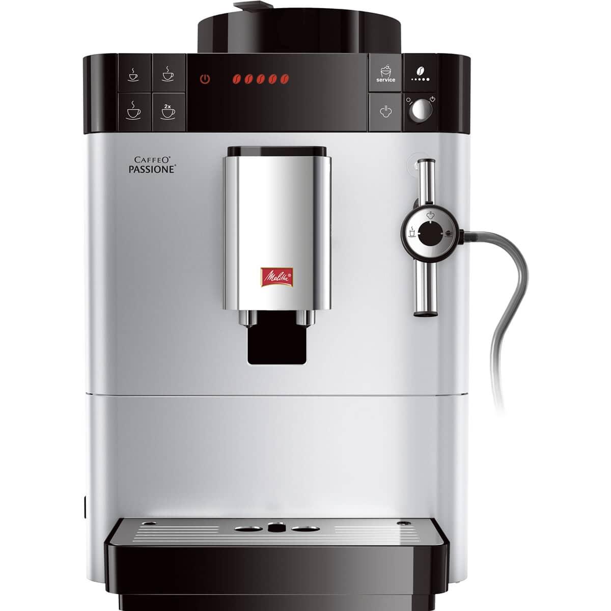 Melitta Caffeo Passione Silver Bean To Cup Coffee Machine F530 101