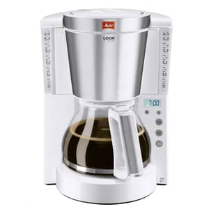 Melitta Look IV Therm Timer White Filter Coffee Machine (1011-15)
