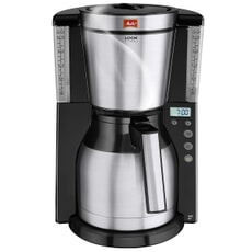 Melitta Look IV Therm Timer Black Filter Coffee Machine (1011-16)