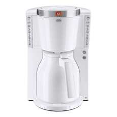 Melitta Look IV Therm White Filter Coffee Machine (1011-11)