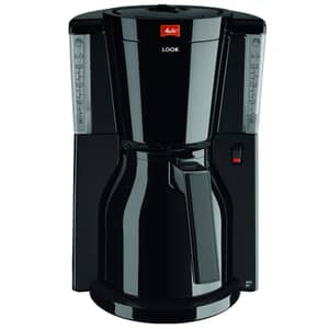 Melitta Look IV Therm Black Filter Coffee Machine (1011-10)