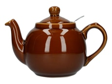 London Pottery Farmhouse® 2 Cup Teapot Rockingham Brown