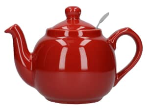 London Pottery Farmhouse® 2 Cup Teapot Red