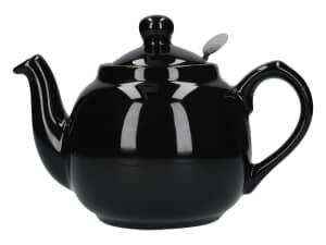 London Pottery Farmhouse� 2 Cup Teapot Gloss Black