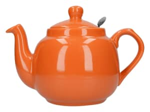 London Pottery Farmhouse� 2 Cup Teapot Orange