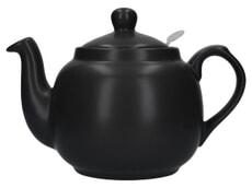 London Pottery Farmhouse� 4 Cup Teapot Matte Black