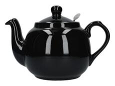 London Pottery Farmhouse� 4 Cup Teapot Gloss Black