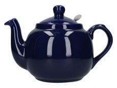 London Pottery Farmhouse� 4 Cup Teapot Cobalt Blue