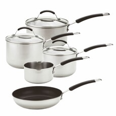 Meyer Induction Stainless Steel 5 Piece Set