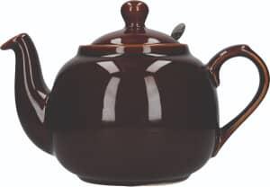 London Pottery Farmhouse� 6 Cup Teapot Rockingham Brown