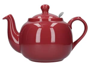 London Pottery Farmhouse� 6 Cup Teapot Red
