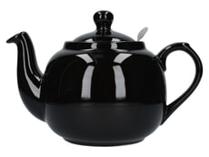 London Pottery Farmhouse� 6 Cup Teapot Gloss Black