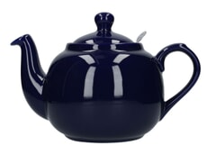London Pottery Farmhouse� 6 Cup Teapot Cobalt Blue