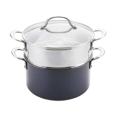 Prestige Opti Steel 24cm Steamer Set 5.7L
