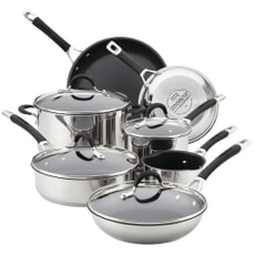 Circulon Momentum Stainless Steel 7 Piece Set