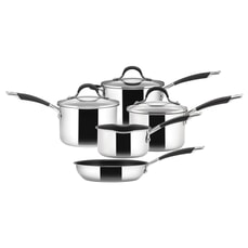 Circulon Momentum Stainless Steel 5 Piece Pan Set