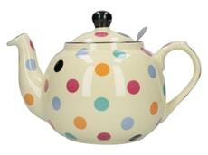 London Pottery Farmhouse� 6 Cup Teapot Multi Spot