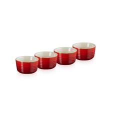 Le Creuset Mini Ramekins Set Of 4 Cerise