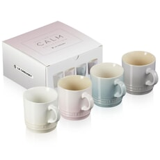 Le Creuset Calm Collection Set Of 4 Espresso Mugs