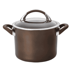 Circulon Symmetry Chocolate Hard Anodised 20cm Stockpot