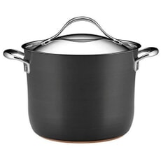 Anolon Nouvelle Copper Base Hard Anodised - 24cm Stockpot