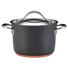 Anolon Nouvelle Copper Base Hard Anodised - 16cm Stockpot