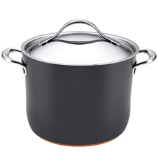 Anolon Nouvelle Copper Base Hard Anodised - 20cm Stockpot