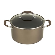 Anolon Advanced+ Suregrip Umber 24cm Stockpot 5.7L