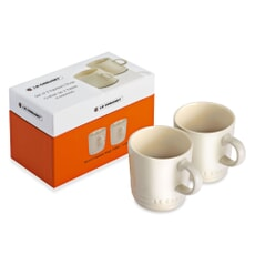 Le Creuset Set of 2 Espresso Mugs Almond