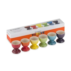 Le Creuset New Rainbow Set Of 6 Egg Cups