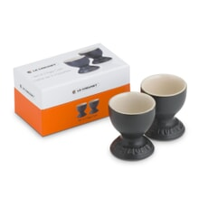 Le Creuset Set of 2 Egg Cups Satin Black